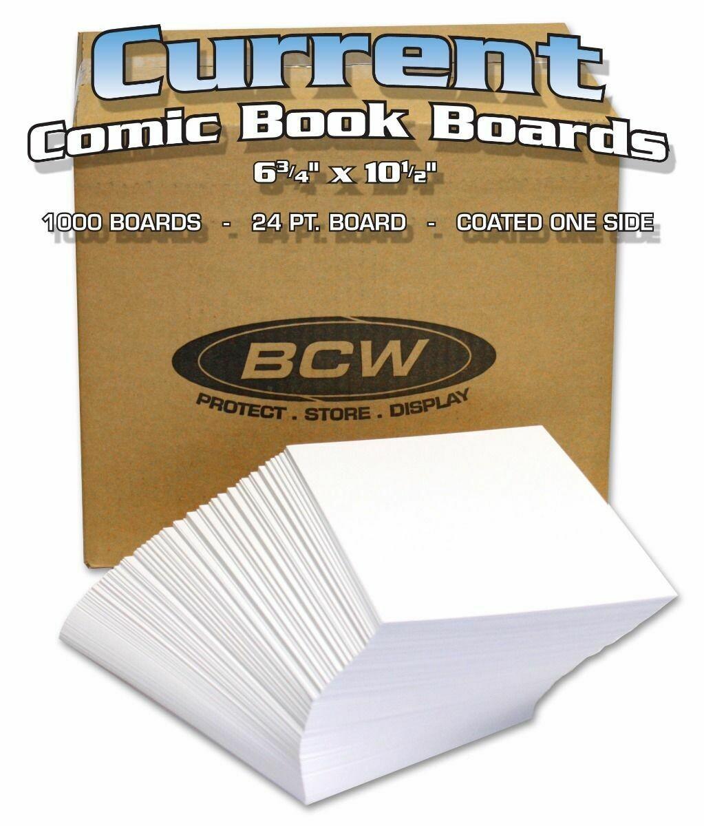Bulk Current Comic Backing Boards Bulk Current Comic Backing Boards