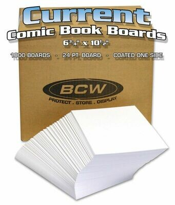 Bulk Current Comic Backing Boards Bulk Current Comic Backing Boards