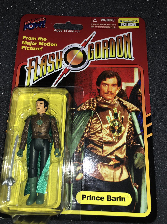 Flash Gordon: Prince Barin action figure (Bif Bang Pow/2015) 1980 film
