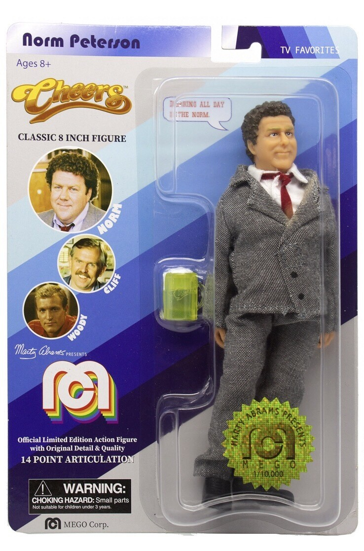 Mego Norm Peterson From Cheers 8""