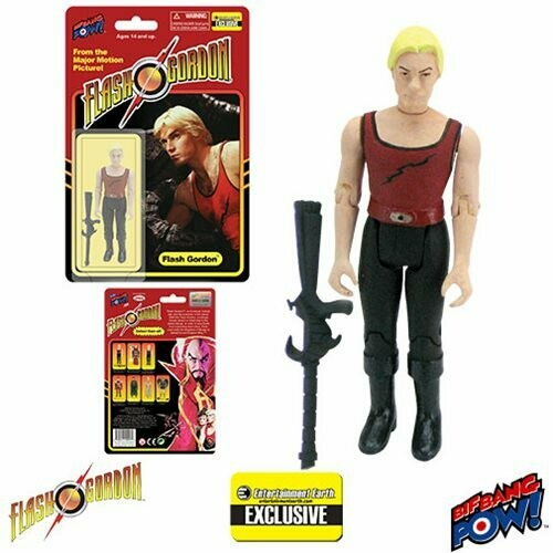 Flash Gordon in Red Tank Shirt 3 3/4-Inch Action Figure