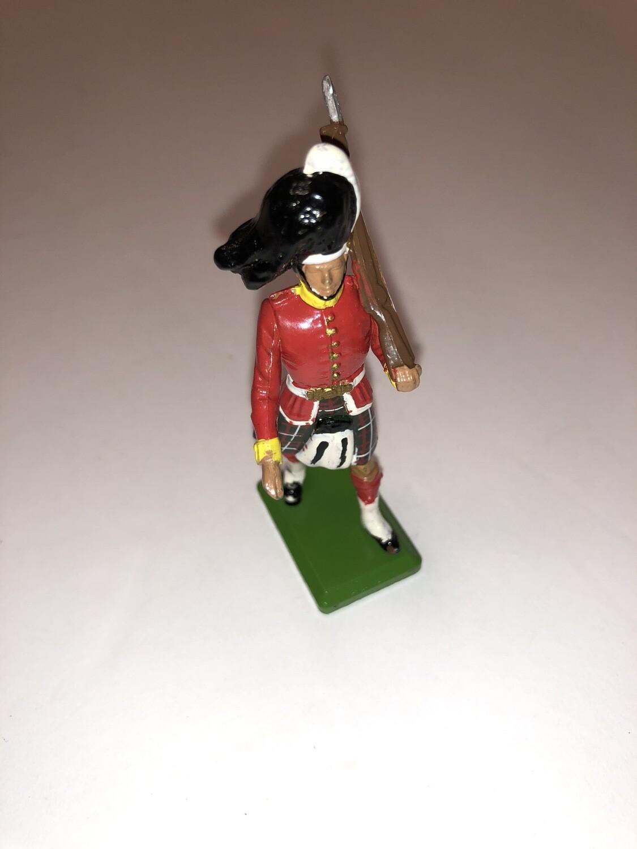 Vintage Britains Scotsman Soldier In Kilt Made In England 1983