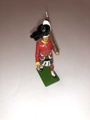 Vintage Britains Scotsman Soldier In Kilt Made In England 1983