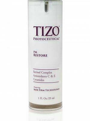 TIZO® PM RESTORE with retinol complex