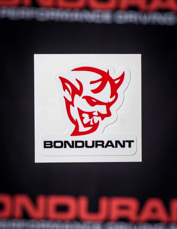 Demon Bondurant Sticker
