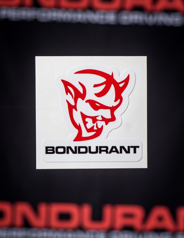 Demon Bondurant Sticker