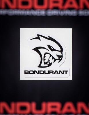Hellcat Bondurant Sticker