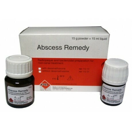 Абсцесс Римиди пор+жидкий (15г+15мл) Материал для лечения инфицирования корневых каналов,PD