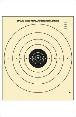 Action Target 25 Yard B-8 Target