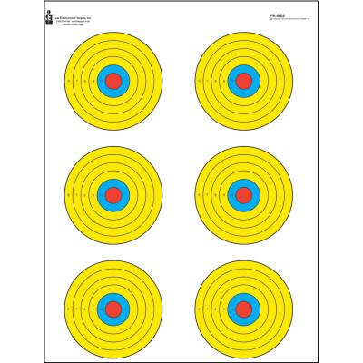 Action Target Bright 6 Bullseye