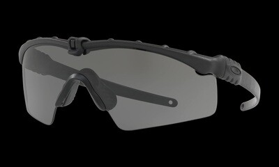 Oakley SI Ballistic M-Frame 3.0 Black with Clear/Gray Lenses