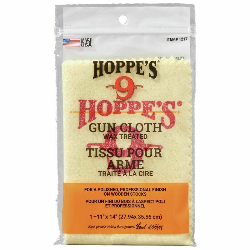 Hoppe's Wax Treated Gun Cloth