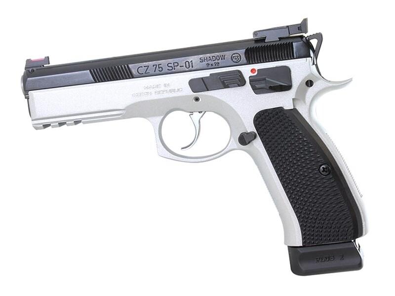 CZ75 SP-01 Shadow Target II Dual Tone