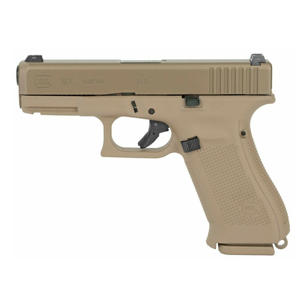 Glock 19X 9mm FDE