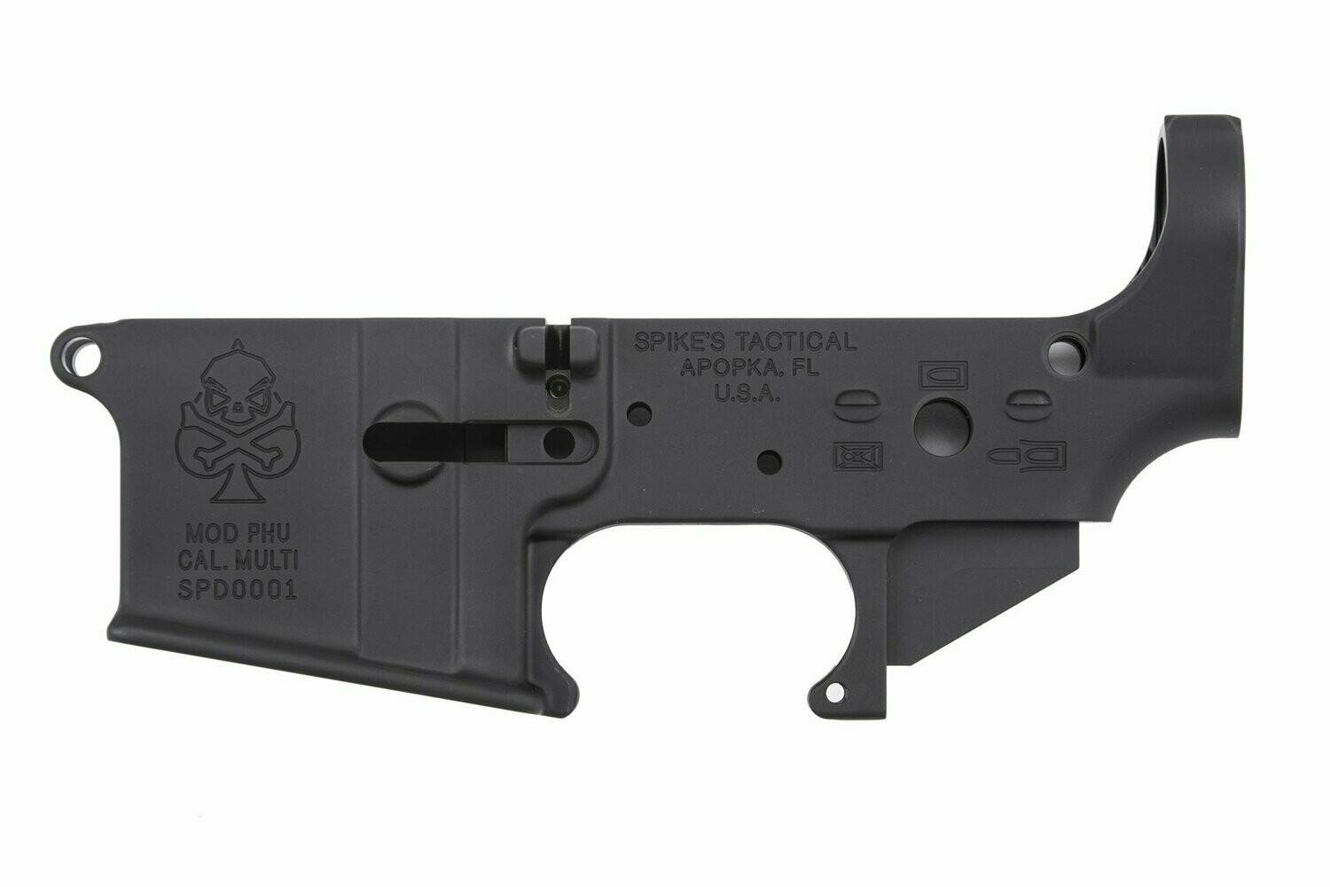 Spike's Tactical PHU Spade  Blemished Stripped Lower Receiver AR15