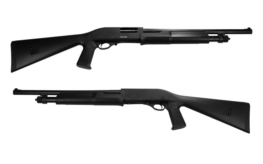Akkar Churchill 612 12ga Shotgun with Pistol Grip