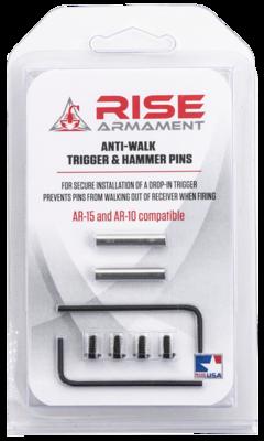 Rise Armament Anti-Walk Trigger and Hammer Pins