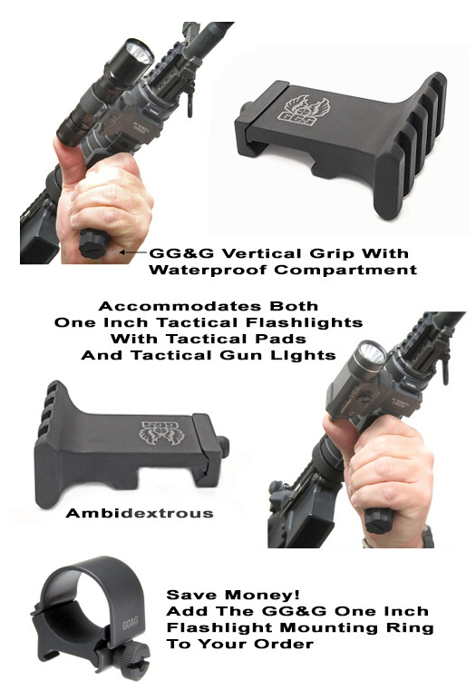 GG&G Offset Tactical Flashlight Mount