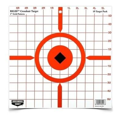"B/C Rigid Sight-In Target 12"" 10pk"