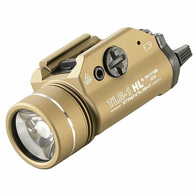 Streamlight TLR-1 HL 1000Lumens FDE