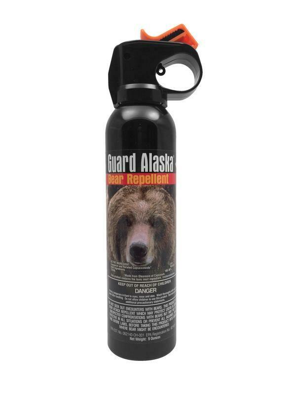 MSI Guard Alaska Bear Spray