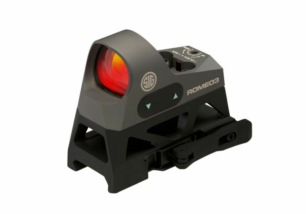 Sig Sauer Romeo 3 Miniature Reflex w/Riser