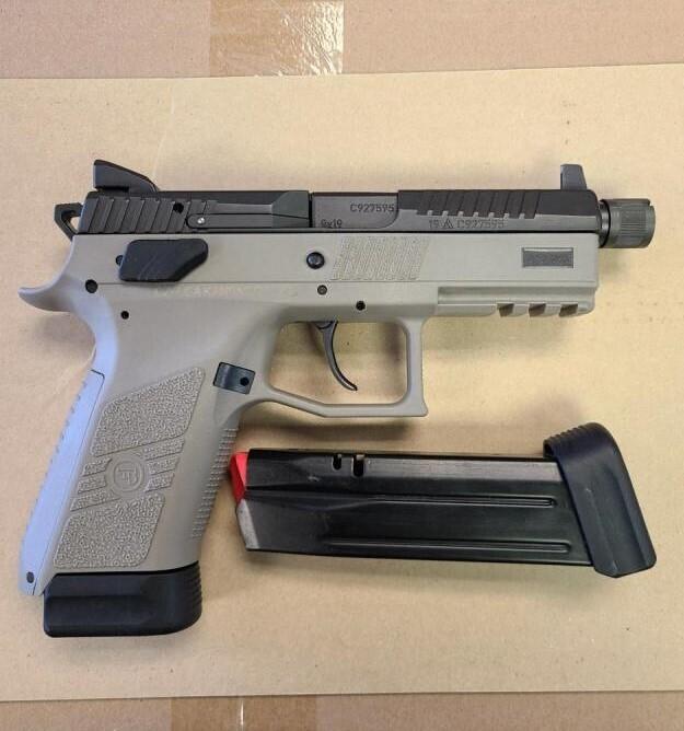 CZ P07 Suppressor Ready 9mm - USED