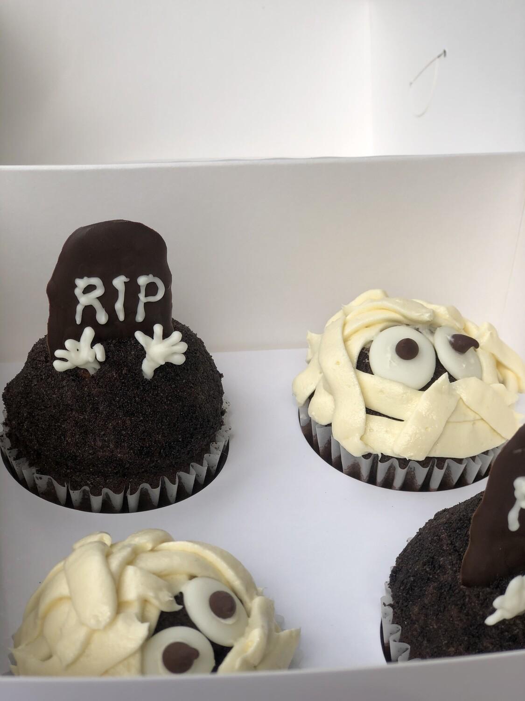 Cupcakes Momia y Monstruo