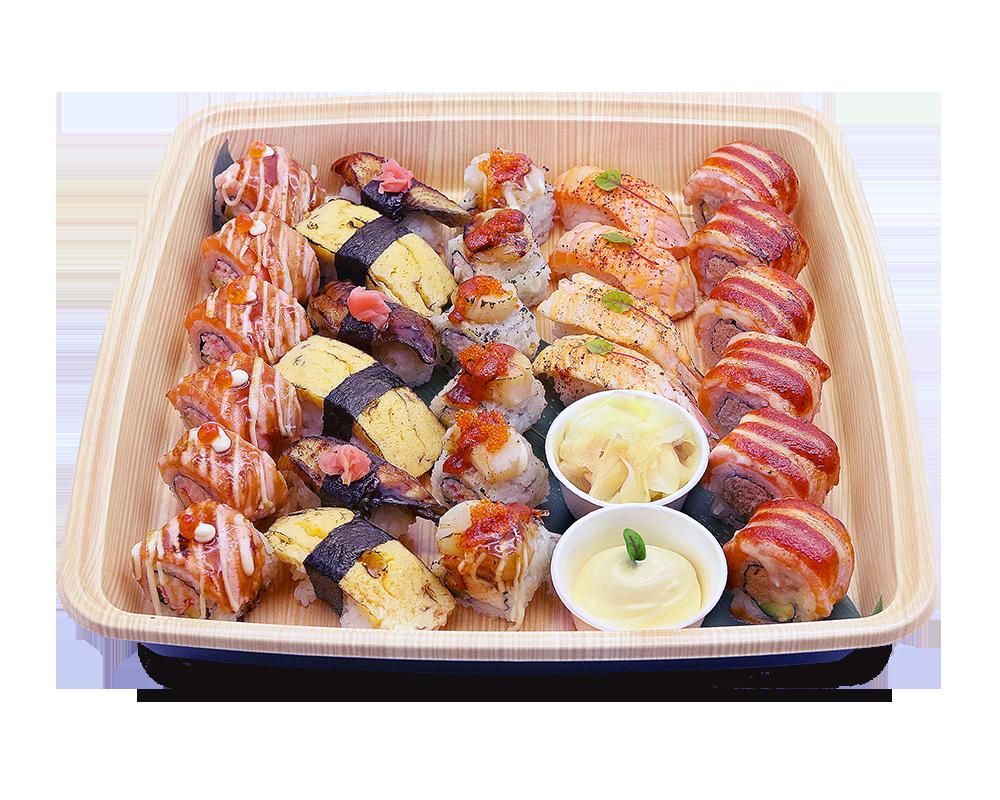 Grilled Roll & Nigiri Platter