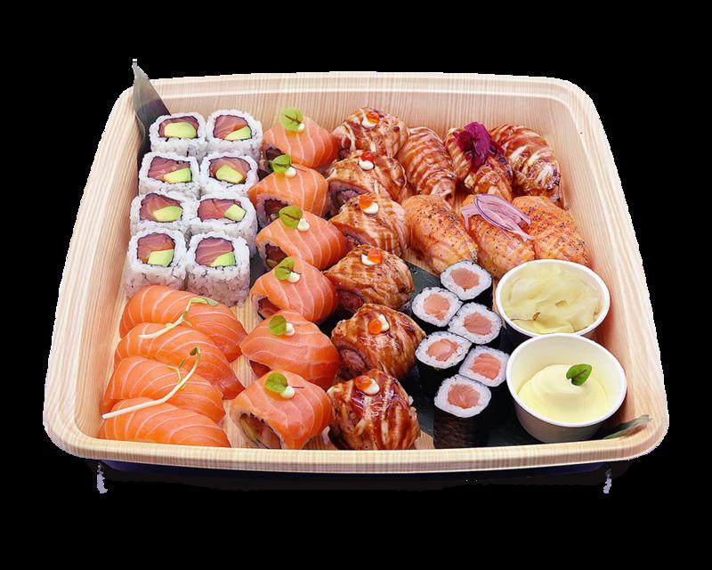 Salmon Lover Platter