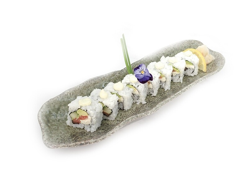 Salmon, Avocado, Cucumber and Mayo Roll (8 pcs)