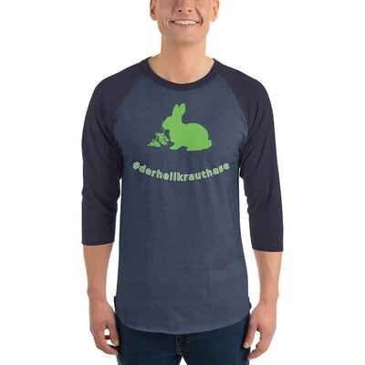 3/4-Ärmel-Raglan-Shirt