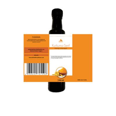 Veganes Kurkuma - Senf Öl