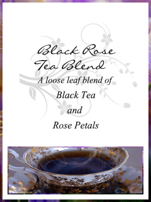 Black Rose Tea Blend