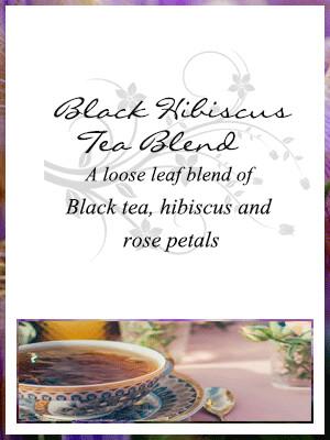 Black Hibiscus Tea Blend