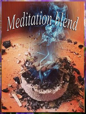 Meditation blend w/ charcoal tab