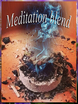 Meditation blend w/ charcoal tab