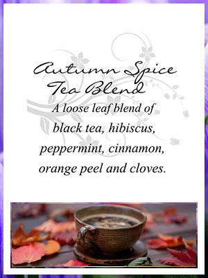 Autumn Spice Tea Blend