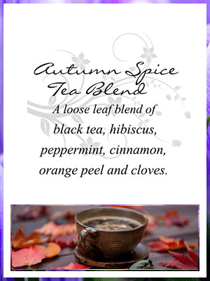 Autumn Spice Tea Blend