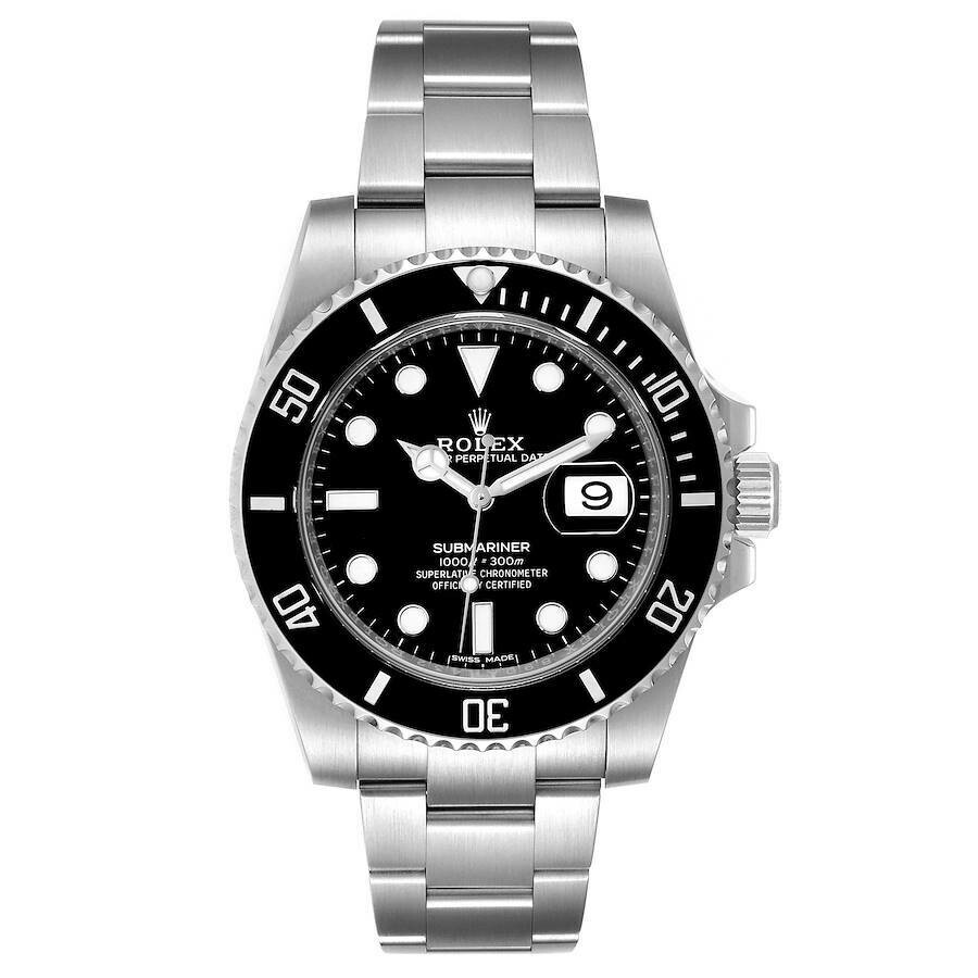 AAA QUALITY Submariner Date 116610 Lv Mens 40 Mm Steel Case