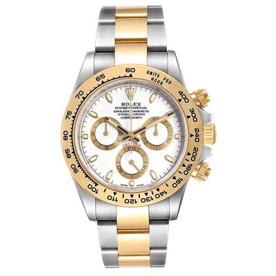 AAA QUALITY Cosmograph Daytona 116523 40Mm Two Tone  White Dial