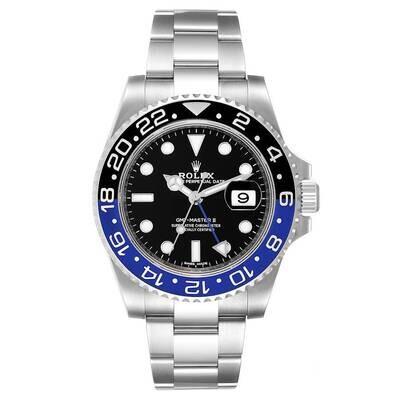 AAA QUALITY Gmt Master II 116710 Blnr 40Mm Blue Black Batman