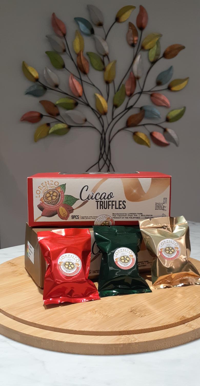 Lorenzo Farm's Cacao Truffles.