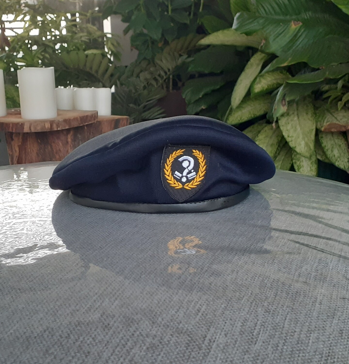 Modern Military Style Beret.