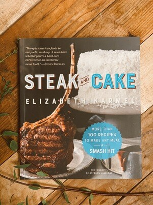 Steak and Cake Recipe Book