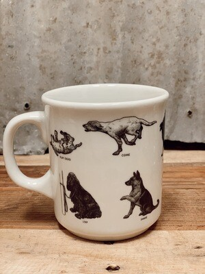 Dog Lovers' Dog Command Mug