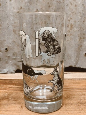 Dog Lovers' Dog Command Tall Drinking Glass
