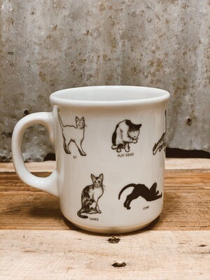 Cat Lovers' Cat Command Mug
