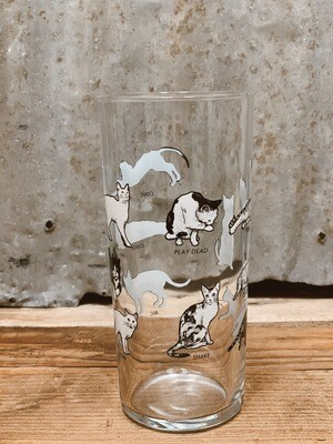 Cat Lovers' Cat Command Tall Drinking Glass