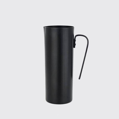 Black Aluminum  Pitcher